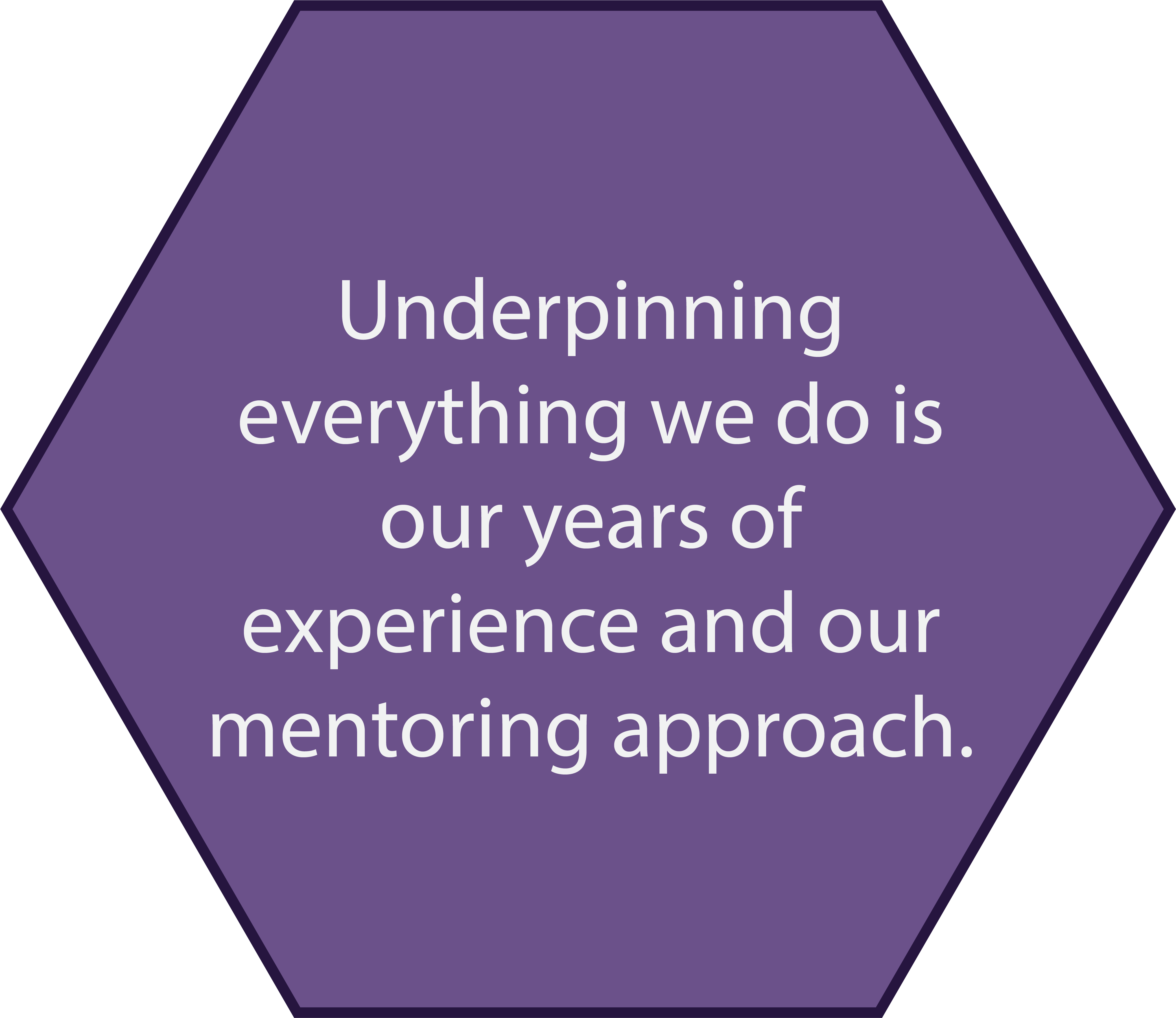 Years of experience and mentoring approach
